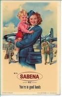 SABENA - Bagage Etiket: You're In Good Hands - Baggage Labels & Tags