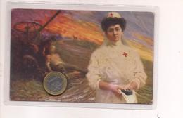 2613) Militari CROCE ROSSA ITALIANA CAMPESTRINI 1917 Viaggiata - Croce Rossa