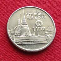 Thailand 1 Baht 2004 / 2547 Y# 183 Lt 148 Tailandia Thailande - Thaïlande