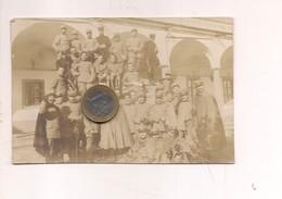 2621) Militari Firenze Sanità Caserma  1^WW 1914 Viaggiata - Croce Rossa