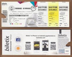 AC - FENERBAHCE Vs OLYMPIAKOS FOOTBALL - SOCCER TICKET 16 AUGUST 2014 - Match Tickets