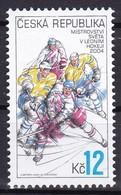 2004, Tschechische Republik, Ceska, 392, Eishockey-Weltmeisterschaft, MNH ** - Nuovi