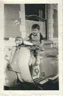 PHOTO MOTO Ancienne - SCOOTER- Oldtimer Motor Bike - Foto's