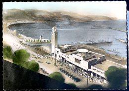 Cpsm Algérie Philippeville La Gare   Sept18-47 - Andere Steden