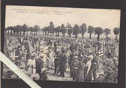 Oise - Catenoy - Cimetiere Militaire, Cérémonie Commemoration Morts Guerre 14/18 - 13 Juillet 1919 - France