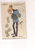 2628) Illustratori GOLIA UMORISTICA Satirica 1^ WW 1917 Viaggiata - Altre Illustrazioni