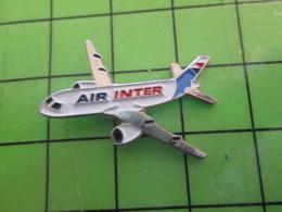 1418b Pin's Pins / Belle Qualité Et TB état !!!! : THEME AVION AVIATION / BIREACTEUR COMMERCIAL COMPAGNIE AIR INTER - Airplanes