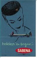 SABENA - Bagage Etiket: Holiday En Vogue - Étiquettes à Bagages