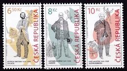 2004, Tschechische Republik, Ceska, 396/98, Figuren Aus Tschechischen Opern. MNH ** - Czech Republic
