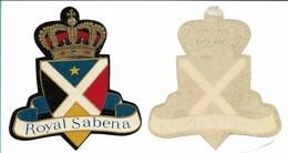 SABENA - Bagage Etiket: Royal Sabena - Étiquettes à Bagages