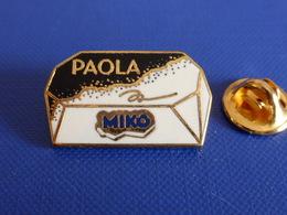 Pin's Glace Miko Paola - Dessert - Zamac (VA52) - Lebensmittel