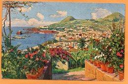 Funchal Madeira Portugal 1934 Postcard - Madeira