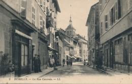 H185 - 74 - RUMILLY - Haute-Savoie - La Rue Centrale - Rumilly