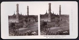 RARE ! OESTLICHER CENTRAL HIMALAYA - LUCKNOW - IMAMBARA MOSCHEE MOSQUE MOSQUEE - SIKHIM - Photos Stéréoscopiques