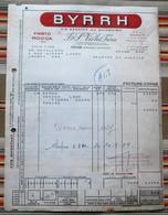 66 THUIR 54 NANCY BYRRH Porto MOGOA - Factures