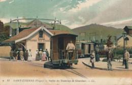 H185 - 88 - SAINT-ETIENNE - Vosges - Station Des Tramways De Gérardmer - Saint Etienne De Remiremont