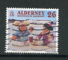 AURIGNY- Y&T N°153- Oblitéré - Alderney