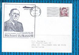 USA Cover US Navy / USS Richard B.Russel SSN-687 - Etats-Unis