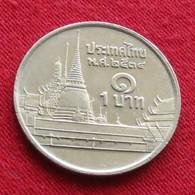 Thailand 1 Baht 1991 / 2534 Y# 183  Lt 208 Tailandia Thailande - Thaïlande