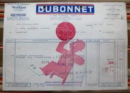 75 PARIS 4e  DUBONNET - Factures