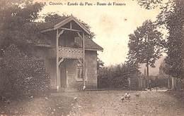 Couvin - Entrée Du Parc - Route De Frasnes (animée, 1920) - Couvin