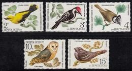 Russia - Soviet Union 1979 Mi.4883-4987 Birds Vögel MNH ** Set  (83010 - Birds