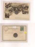 2691) Trentino Alto Adige MERANO BOLZANO Gruss LITHO 1898 Viaggiata TREBINJE MILITAR POST 6 - Saluti Da.../ Gruss Aus...