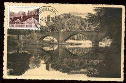 Belgique - Carte Maximum 1953 - Bouillon , Le Pont Et Le Château - N15 - Maximum Cards