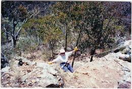 Australia - Abseiling  - (Photo-postcard) - Zonder Classificatie