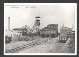 Milmort - La Houillère - Photo De CPA Sur Papier Photo - Industrie / Industry - Charbonnage / Mijnbouw - Herstal