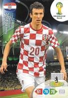 CARTE PANINI ADRENALYN COUPE DU MONDE FIFA BRESIL 2014 CROATIE IVAN PERISIC - Trading Cards