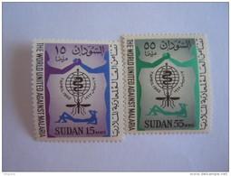 Soedan Soudan Sudan 1962 Lutte Contre Le Paludisme Yv 142-143 MNH ** - Soudan (1954-...)