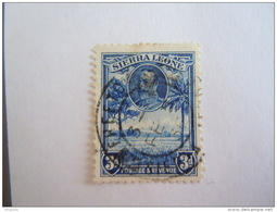 Sierra Leone 1932 George V Et Paysages Yv 129 O - Sierra Leone (...-1960)