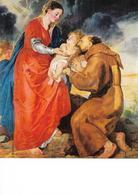 Oeuvre De Rubens, La Vierge Et St François D'assise - Peintures & Tableaux