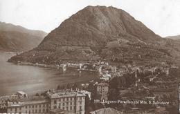 LUGANO - PARADISO → Monte San Salvatore Anno 1923 - TI Tessin