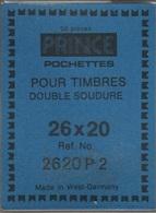Paquet De 25 Pochettes Transparentes Prince Double Soudure Format 26 X 20  à  - 50% - Bandes Cristal