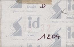Paquet De 50 Pochettes Transparentes Hawid Double Soudure Format 36 X 57  à  - 50% - Mounts
