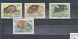 Papua Neuguinea (BBK) Michel Cat.No. Mnh/** 677/680 Rats - Papoea-Nieuw-Guinea