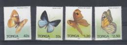 Tonga (BBK) Michel Cat.No. Mnh/** 1074/1077 Butterfly - Tonga (1970-...)