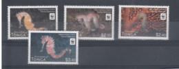 Tonga (BBK) Michel Cat.No. Mnh/** 1756/1759 Sea Horse Single - Tonga (1970-...)