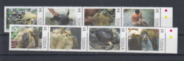 Tonga (BBK) Michel Cat.No. Mnh/** 1860/1867 Turtles - Tonga (1970-...)
