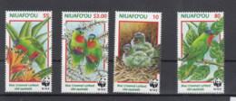 Niuafo Ou (BBK) Michel Cat.No. Mnh/** 326/329 Birds - Tonga (1970-...)