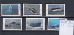 Niuafo Ou (BBK) Michel Cat.No. Mnh/** 435/440 Whale - Tonga (1970-...)