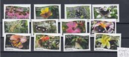 Niuafo Ou (BBK) Michel Cat.No. Mnh/** 527/538 Butterfly Flowers - Tonga (1970-...)