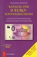 Grabowski Katalog 0-EURO-Souvenirscheine 2018 New 20€ Für Papiergeld Erstauflage Souvenirnoten Deutsch/französisch - Stamps