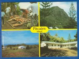 Pitcairn Island; Multibildkarte - Pitcairn