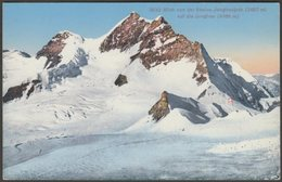 Blick Von Der Station Jungfraujoch Auf Die Jungfrau, Bern, C.1920 - Wehrli AK - BE Berne