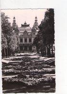 U3521 Postcard 1955 MONTECARLO, LES JARDINS ET LE CASINO + NICE STAMP _ ED LA CICOGNE - Monte-Carlo