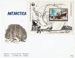Belgie Belgien 1966 - Antarktis-Expeditionen - MiNr Block 36 (1451) FDC - Antarktis-Expeditionen