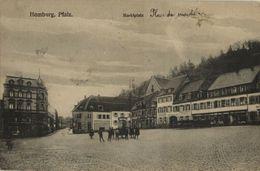 HOMBURG, Pfalz., Marktplatz (1919) AK - Saarpfalz-Kreis